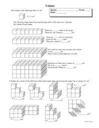all worksheets grade 5 volume worksheets free printable