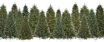 pre lit led artificial christmas trees with revolutionary light