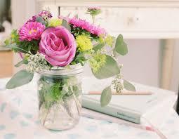 jar flowers wedding flower arangements using jars flowers from gabe
