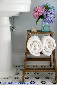 vintage bathroom storage ideas bathroom storage ideas this ladder