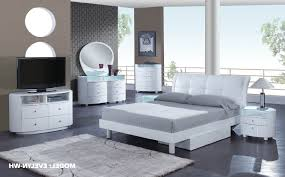 Black Faux Leather Bedroom Furniture White Dresser King Size Sets - White faux leather bedroom furniture