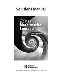 Mcgraw Hill Math Worksheets Advanced Mathematical Concepts Function Mathematics Analysis