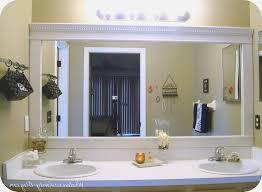 diy bathroom design bathrooms design diy bathroom mirror frame frames design