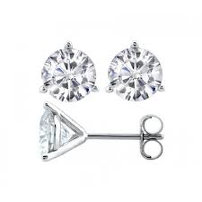 lazare diamond review lazare diamonds three prong martini diamond stud earrings