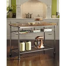 industrial iron wood kitchen trolley natural black buy kitchen home styles the orleans vintage carmel kitchen utility table 5061 94