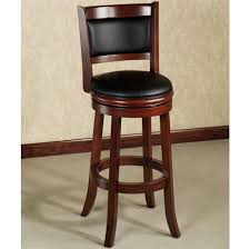Wooden Swivel Bar Stool Furniture Enchanting Veneered Wooden Swivel Bar Stools Best