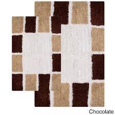 navy blue bath mat set creative rugs decoration