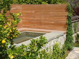 Modern Backyard Fence by Modern Privacy Fence Ideas For Your Outdoor Space