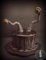 Scary Halloween Cake by Seriously Spooky Halloween Cakes Cakecentral Com