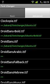 fonts for android change fonts on android device with free app