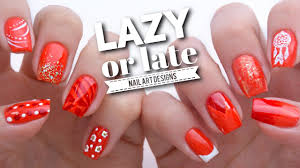 10 quick nail art ideas if you u0027re lazy or late youtube