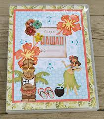 hawaiian photo albums scraps of hawaii smash book mini album