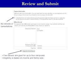 the online application ppt download
