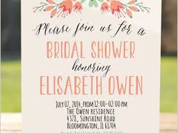 Bridal Shower Invitation Wording Amazing Wedding Shower Invitation Wording Gallery Images For