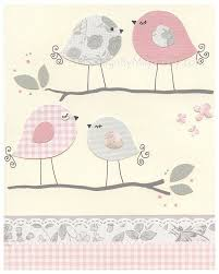 Nursery Bird Decor Bird Nursery Room Decor Nursery Birds Decor Birds Wall