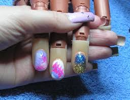 3 quick u0026 easy gel nail art designs youtube