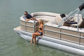 outboard pontoon boat tri tube 8 person max 217cr 2 0 b