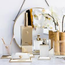 Bath Accessories Online Amara Com Versace Bathroom Accessories Lotion Pump Toothbrush