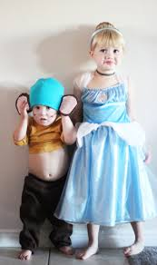 cinderella and her mice what a cute brother sister halloween
