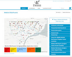 Map Policy Interactive Map Helps Medical Marijuana Patients Find Detroit