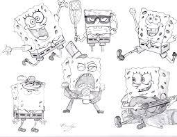 spongebob squarepants x6 by krisaw on deviantart