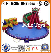 most popular and high quality inflatable water park slides for