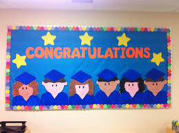 preschool graduation decorations congratulations end of the year graduation bulletin board idea