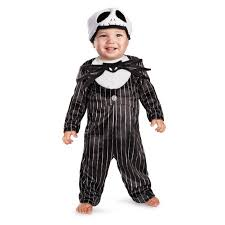 Jack Skellington Costume Infant Jack Skellington Baby Costume Size 6 12 Months Walmart Com