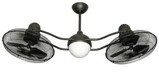 troposair 15 inch duet oscillating dual motor ceiling fan
