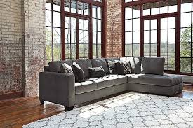 charcoal owensbe 2 piece sectional ashley furniture living