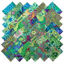 Kaffe Fassett Home Decor Fabric Amazon Com Kaffe Fassett Philip Jacobs Garden Greens Precut 5