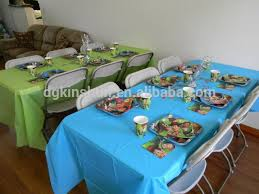 plastic table cover tablecloth decorations table cloth