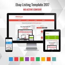 Template For Ebay Listing professional ebay listing template mobile friendly design 2018 https