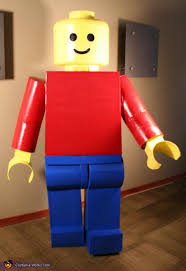 Tall Man Halloween Costumes Classic Lego Man Costume Lego Men Lego Man Costumes Costumes