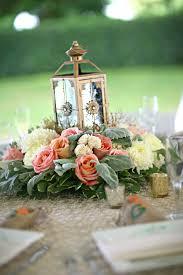 Lantern Wedding Centerpieces Centerpiece Flat With Lantern Wedding Floral Ideas