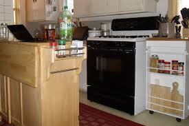 kitchen island cart with seating kitchen kitchen cart with trash bin makes your life easier and more