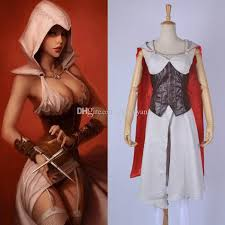 Assassin Creed Halloween Costume Game Assassin U0027s Creed Halloween Clothing Dress Women Female
