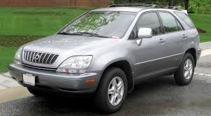 lexus suv what car 1998 rx 300 first lexus crossover suv lexus pinterest