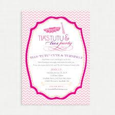 printable birthday invitation tutu and ties birthday party