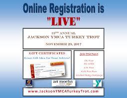 thanksgiving day 10k jackson turkey trot run jackson turkey trot run