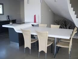 table de cuisine sur mesure table cuisine sur mesure intérieur déco