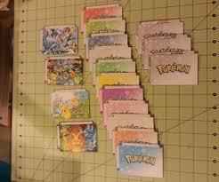 diy ccg tcg card dividers pokemon 4 steps