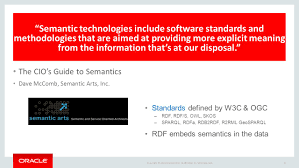 introduction to oracle semantic technologies ppt download