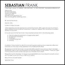 animal technician cover letter 68 images cover letter for