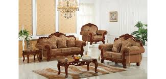 traditional sofas with wood trim wood trim fabric sofas 689 meridian furniture