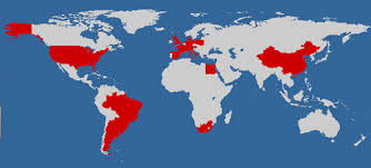 countries visited map countries you visited map tolisano langwitches