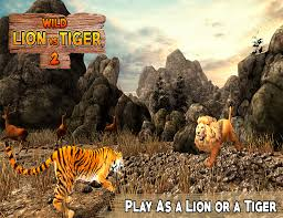 lion vs tiger 2 wild adventure android apps on google play