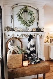 cozy farmhouse christmas entryway liz marie blog