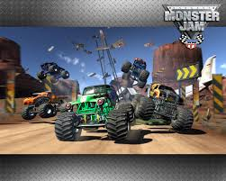 monster truck show detroit monster jam video game wallpaper monster trucks pinterest