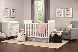 Convertible Crib White by Lila 3 In 1 Convertible Crib Davinci Baby